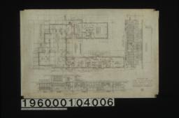 First floor plan ; front elevation ; east elevation :No. 2.