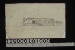 Sketch of front elevation
