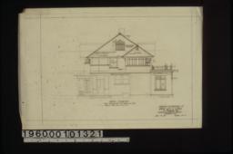 North elevation :Sheet no. 4. (2)