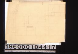 Sketch of floor plan (4)