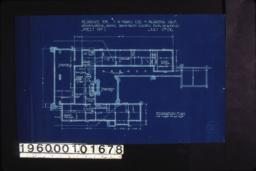 Foundation plan :Sheet no. 1,