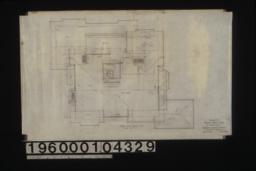 Attic and roof plan : Sheet no. 4.