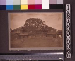 South (rear) elevation of the main residence. (2)