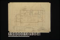 Basement plan\, details in sections\, detail of beam : Sheet no. 1.