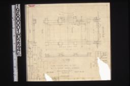 """Paved terrace under oak tree -- plan\, side and end elevations\, section """"A-A""""\, detail of pier cap\, section thro' step :Sheet no. 23."""