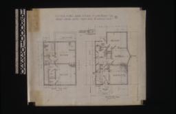 Second floor plan; first floor plan; detail of kitchen fuel gas vent :No. 2