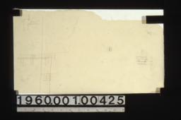 Unidentified detail sketches.