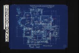 First floor plan\, detail of bay window :Sheet No. 2\, (2)