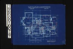 Second floor plan :Sheet No. 3\, (2)