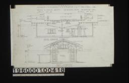 Garage -- south elevation, east elevation : Sheet no. 3,