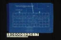 Second floor plan :Sheet mo. 3.