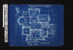 First floor plan\, detail of bay window :Sheet No. 2\, (3)