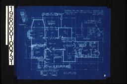 First floor plan\, detail thro' bay window\, stair details :Sheet No. 2\,