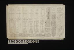 Inch scale and F.S. details of doors : Sheet no. 18\,