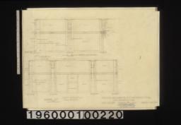 Show room -- north elevation\, plan of corner pilaster\, plan of side pilaster\, west elevation\, plan of front pilaster :Sheet no. 39 /
