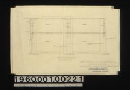 Show room -- south elevation :Sheet no. 40 /