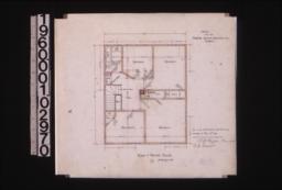 Plan of second floor :2\,