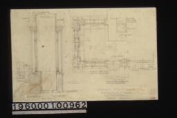Sash -- elev. at bottom\, sections\, plan :Sheet no. 2.