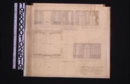 Plan; south elevation\, part west elev\, east elevation\, north elevation :sheet no.1.