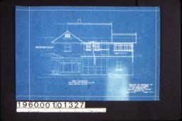 East elevation :Sheet no. 5. (3)