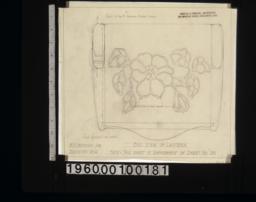 End view of lantern :Sheet no. 20A.