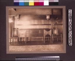 Dining room sideboard.