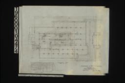 Foundation plan; elev. of furnace :Sheet no. 1.