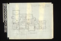 Second floor plan :Sheet No. 3\, (4)