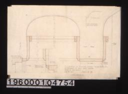 F.S. details of plaster coves\, cased beam\, etc\, in entrance to hall under landing; detail of cove in reception and living rooms : Sheet no. 24.