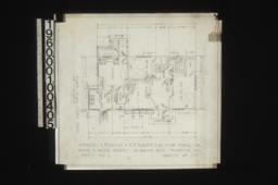 Ground floor plan of keeper's house : Sheet no. 2\,