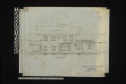 North elevation :Sheet no. 5. (3)