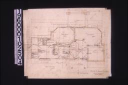 First floor plan; unidentified rough sketches :2.