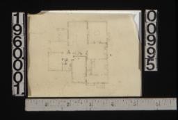 Sketch of first floor plan