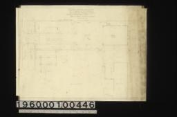 Sketch of proposed layout of west end of property :Sheet no.1\,