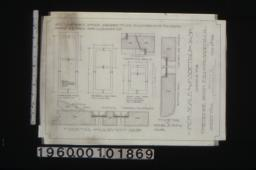 garage -- inch scale and F.S. details of sash : Sheet no. 2\,