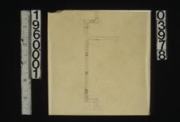 Sketch of plan of windows