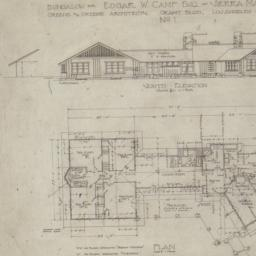 Bungalow for Edgar W. Camp ...