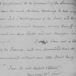 Document, 1775 November 26