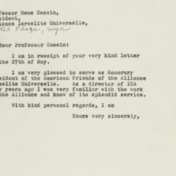 Letter: 1948 June 3
