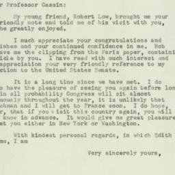 Letter: 1950 December 30