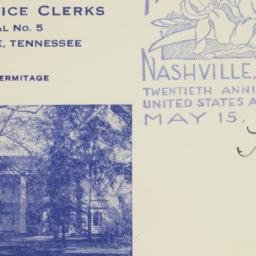 Envelope: 1938 May 20