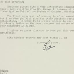 Letter: 1934 October 27