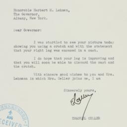 Letter: 1938 August 24