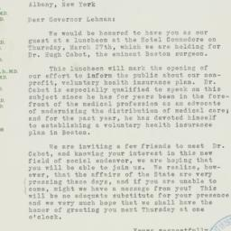 Letter: 1941 March 20