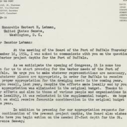 Letter: 1954 December 20