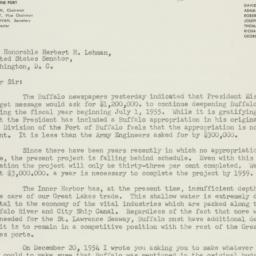 Letter: 1955 January 18
