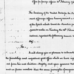 Document, 1788 February 21