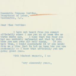 Letter: 1933 April 14