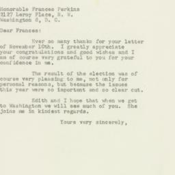Letter: 1949 November 17