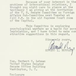 Letter: 1953 March 27